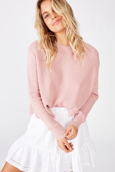 Archy Cropped 2 Pullover, ZEPHYR