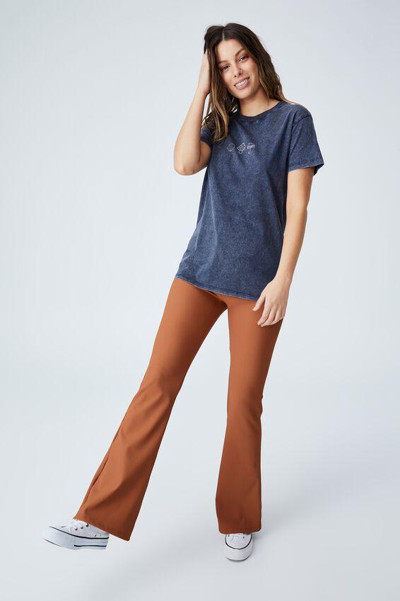 Classic Arts T Shirt, THREE MUSHROOMS/MOONLIGHT