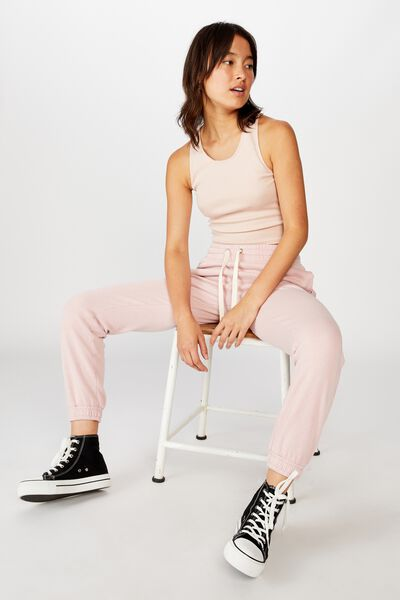 Slim Fit Trackpant, ZEPHYR GARMENT PIGMENT DYED
