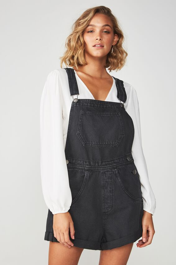 90S Overall, WASHED BLACK CUFF