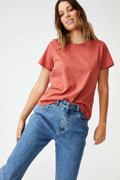 The One Crew Tee, EARTHY RED