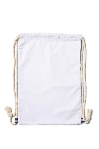 Boardwalk Backpack, WHITE
