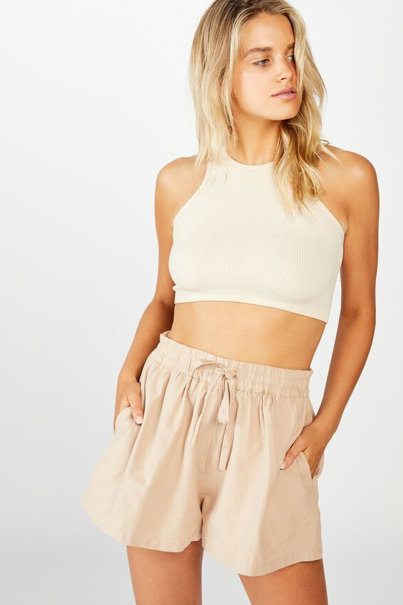 Pull On Short, NATURAL