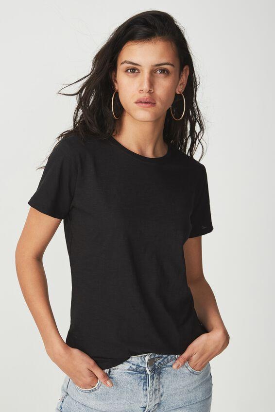 The Crew T Shirt, BLACK