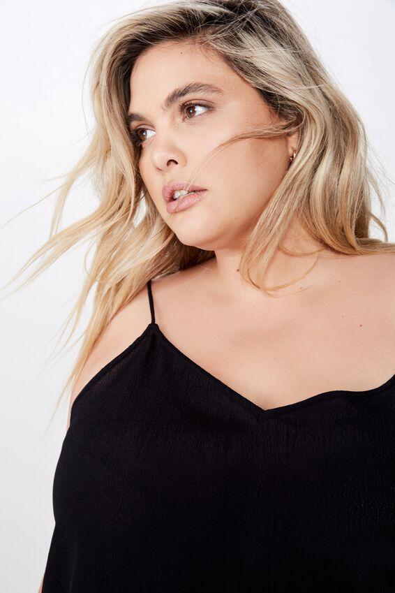 Curve Astrid Cami, BLACK