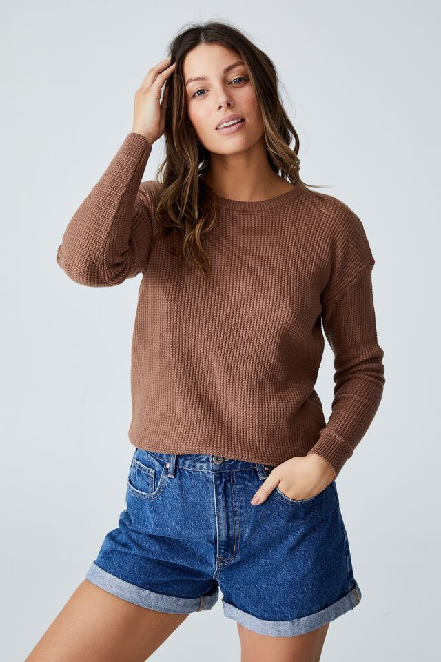 Everyday Pullover, COCOA BEAN