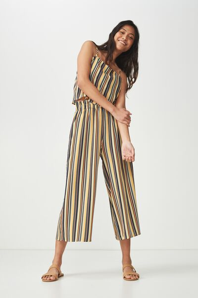 Jessica Culotte, ASH STRIPE YELLOW