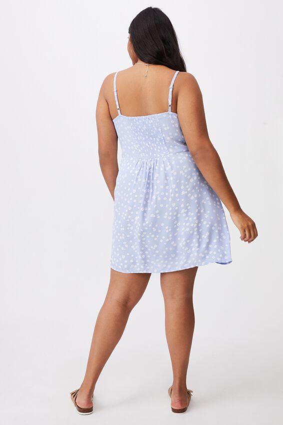 Curve Woven Kendall Dress, STELLA DAISY POWDER BLUE