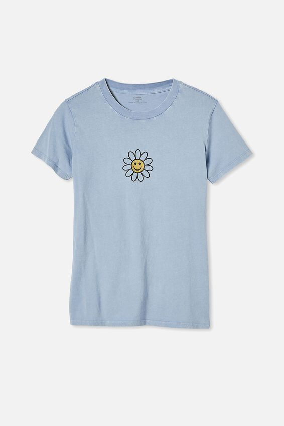 Classic Arts T Shirt, HAVE A NICE DAY/SKY BLUE