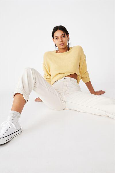 Reverse Pullover, GOLDEN SUN