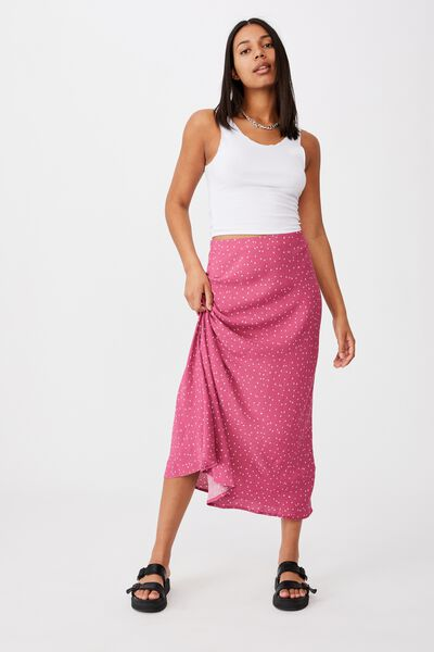 All Day Slip Skirt, EDIE MINI STAR MALAGA