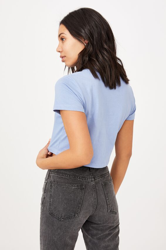The Baby Tee, VINTAGE BLUE