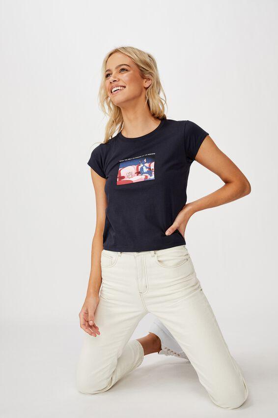 Essential Cny T Shirt, CNY LCN WB TOM AND JERRY MEME/MOONLIGHT