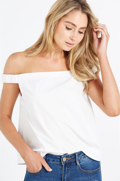 Natalie Ots Blouse, WHITE