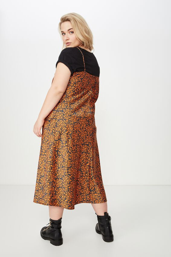 Curve Slip Dress, MADDY DITSY EXUBERANCE