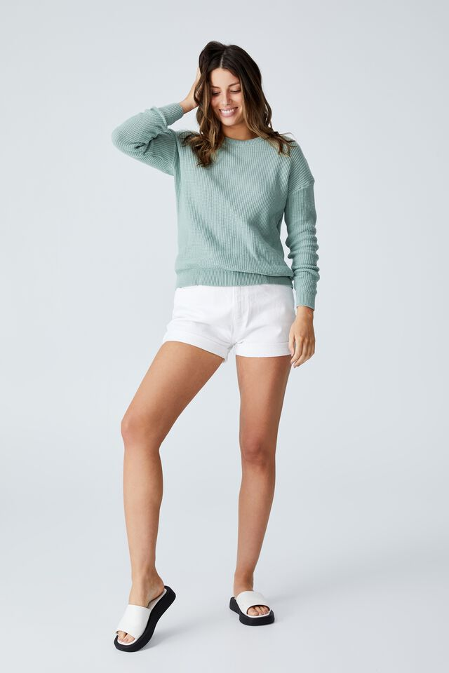 Everyday Pullover, MOSS GREEN