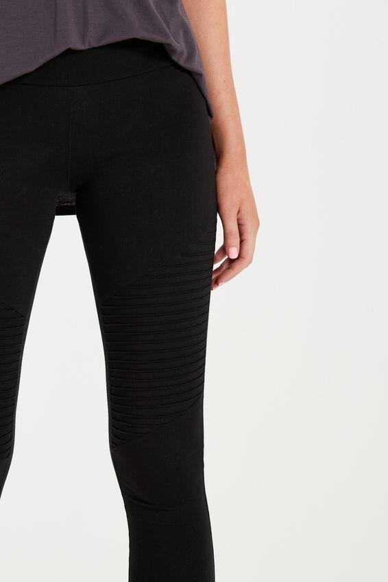 Dakota Detail Legging, NEW BLACK