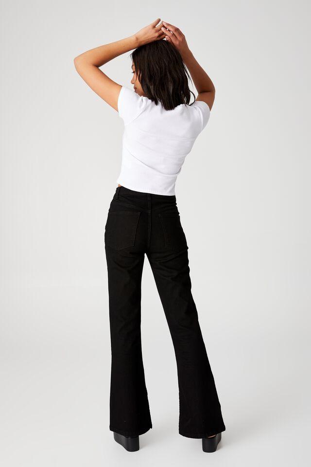 Luna Lace Trim Short Sleeve Top, WHITE