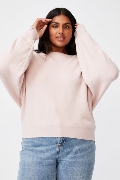 Curve Chloe Luxe Pullover, SOFT PINK