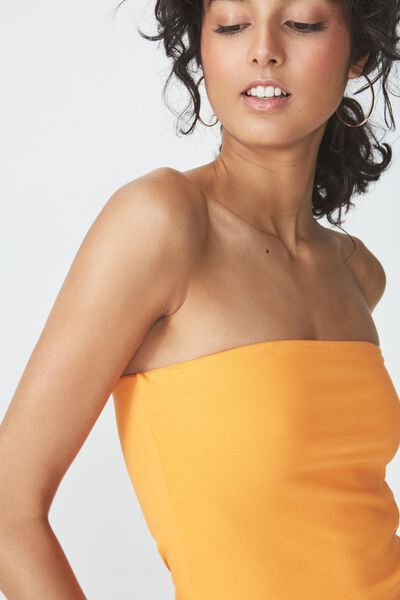 Everyday Tube Top, CITRUS ORANGE