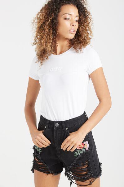 Tbar Hero Graphic T Shirt, BLANC/WHITE