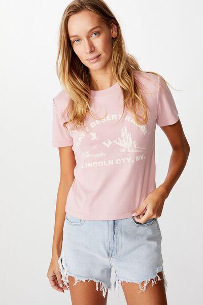 Essential Art T Shirt, EAST DESERT RANGE/ZEPHYR