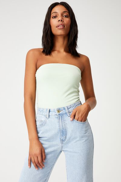 Lena Longline Tube Top, SPRING MINT