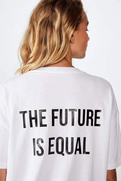 Personalised International Womens Day, WHITE