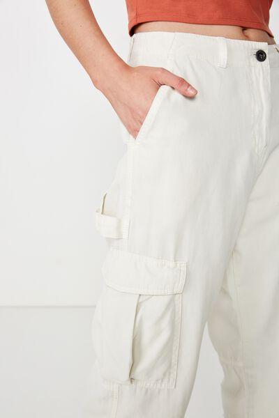 Breya Utility Pant, CANNOLI CREAM