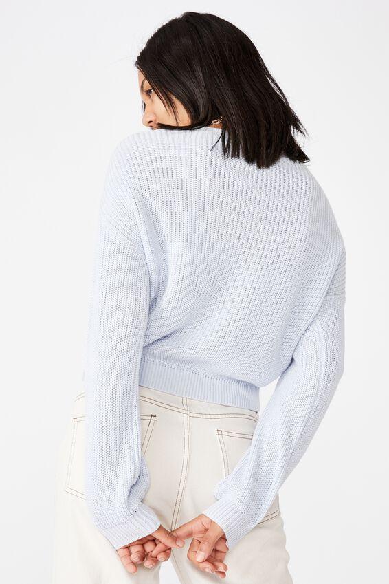 Take A Walk Cardigan, COOL BLUE