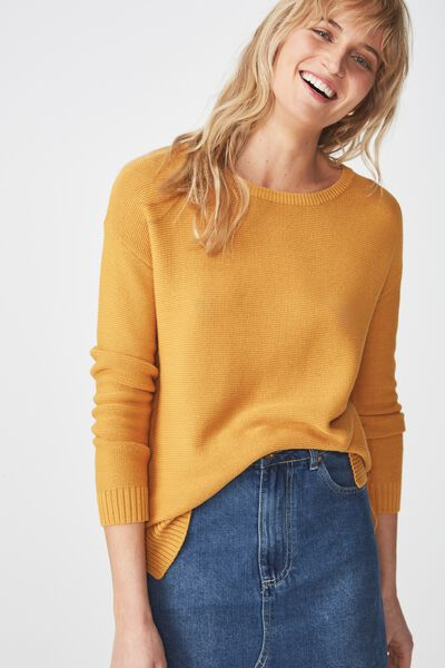 Archy 4 Pullover, SPRUCE YELLOW