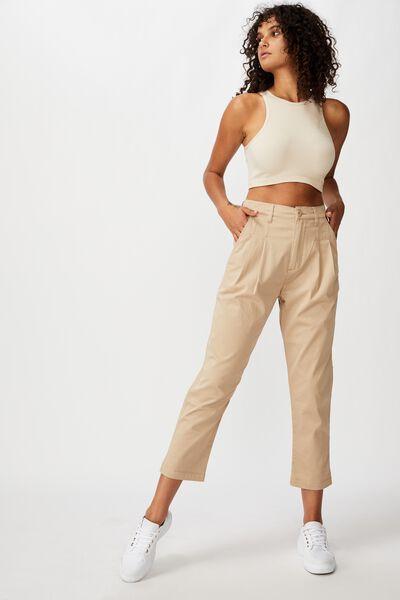 Brooke Pleated Pant, NOMAD R