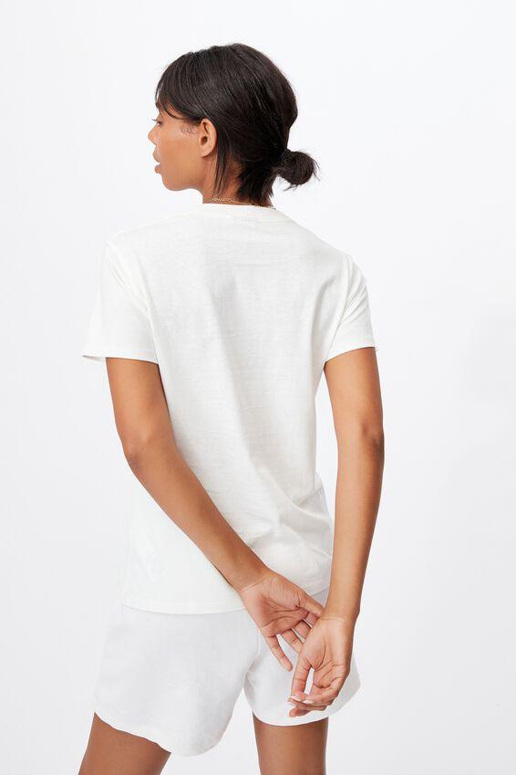 Classic Pop Culture T Shirt, LCN PEA SNOOPY GOOD TIMES/GARDENIA