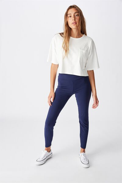 High Waisted Dylan Legging, MEDIEVAL BLUE