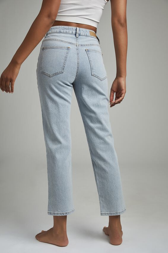 Straight Stretch Jean, ROADKNIGHT BLUE