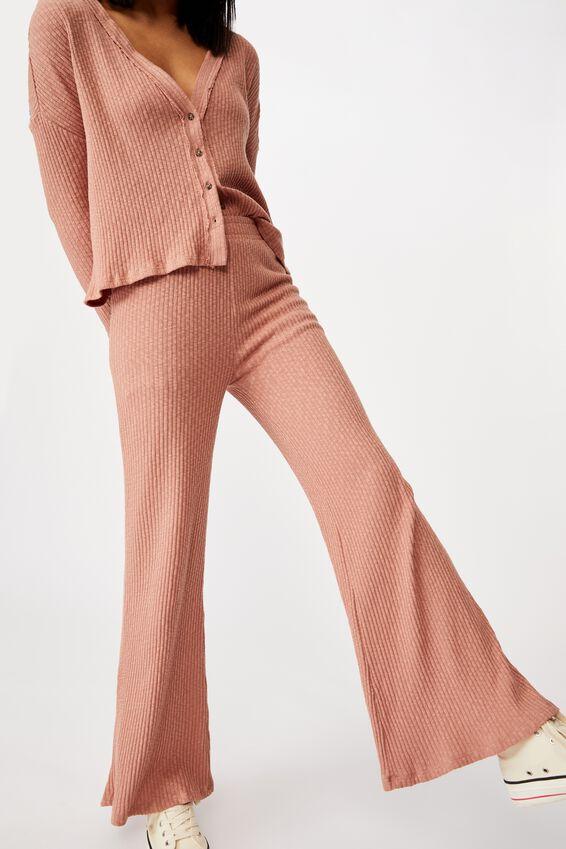 Gigi Wide Leg Pant, OLD ROSE