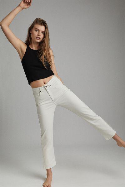 Straight Stretch Jean, WHITEHAVEN