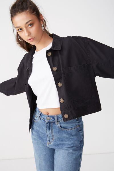 Eloise Eisenhower Jacket, BLACK