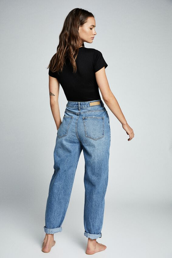 Slouch Jean, BRONTE BLUE