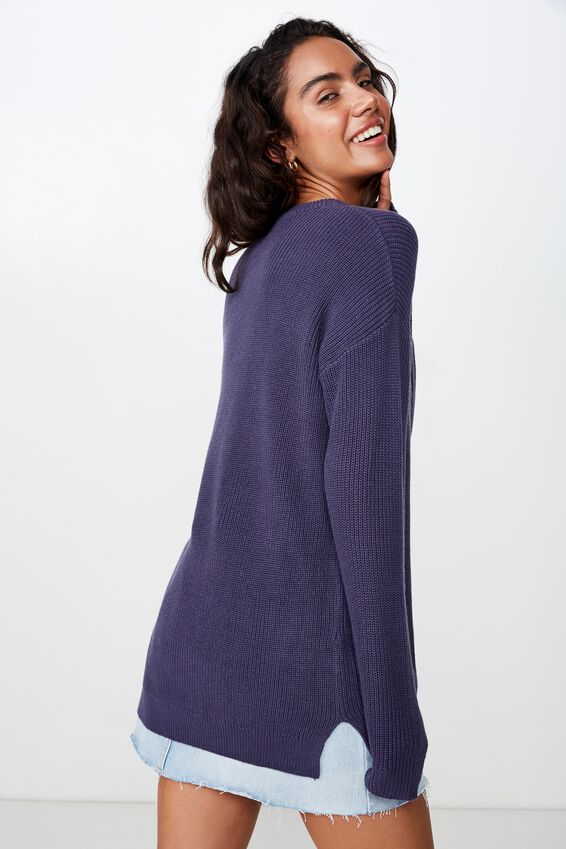 Archy 6 Pullover, CROWN BLUE