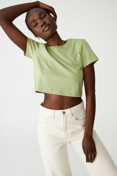The Baby Tee, DUSTY MINT