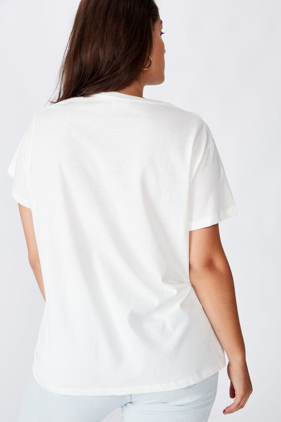 Curve Graphic Tee, YOU'RE GOLDEN/GARDENIA
