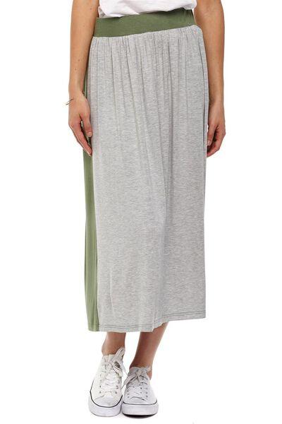 Sea Nicola Maxi Skirt, FOXTROT/GREY MARLE CONTRAST