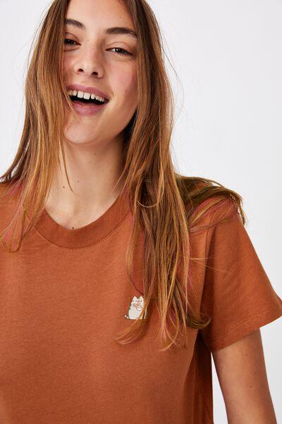 Classic Pop Culture T Shirt, LCN PUSH PUSHEEN RAMEN/COPPER
