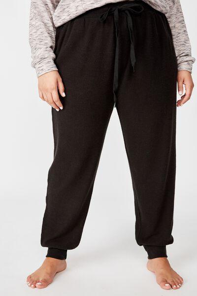 Curve Super Soft Slim Fit Pant, WASHED BLACK MARLE