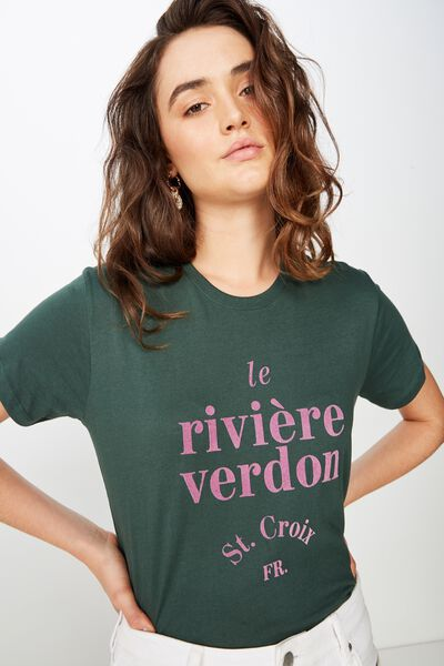 c6a504439b5 Classic Slogan T Shirt