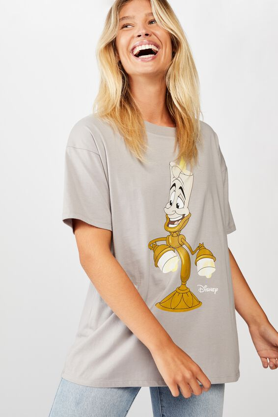 The Original Graphic Tee, LCN DIS LUMIERE VINTAGE/SILVER SCONCE