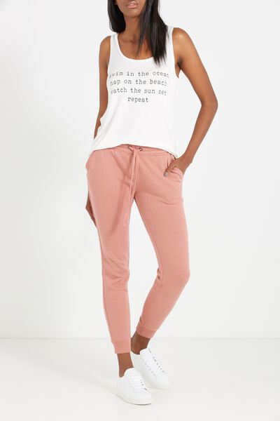 Adele Trackpant, DARK PINK HAZE