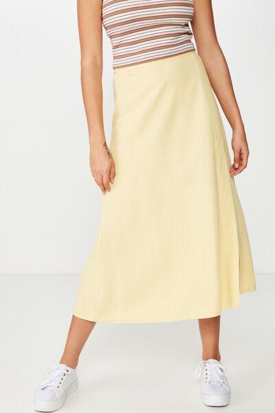 Woven Whitney Midi Skirt, JOJOBA