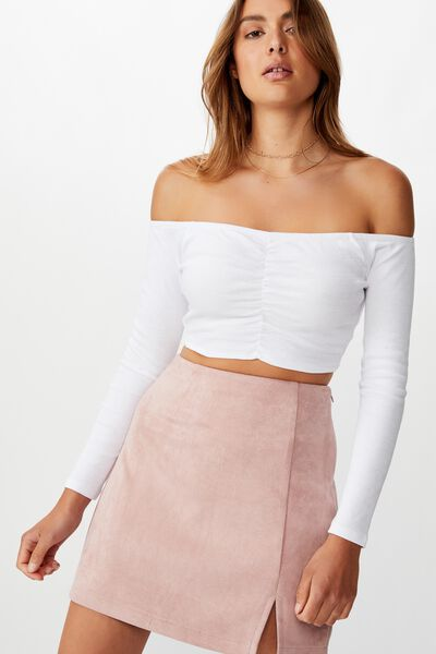 Annabelle Mini Skirt, ZEPHYR